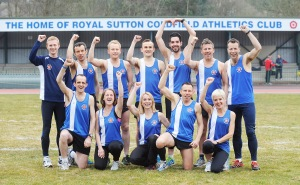 Royal Sutton London Marathon Team