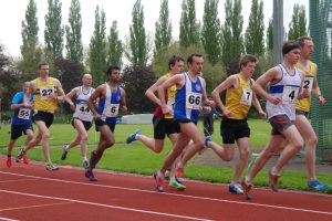 Fred and Vikram in the 1500m