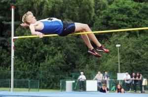 Kieran High Jump