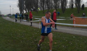 John Fletcher finishing on a strong second lap
