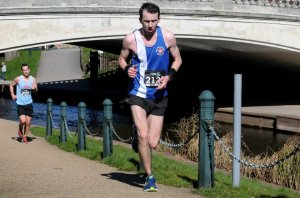 Stafford half marathon - Dave Long
