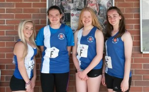 U17 4x300m relay team