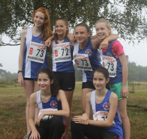 Midland Road Relays - U13 girls