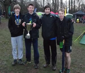 U17 men - Warwickshire Champions