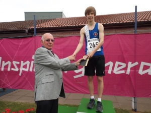 Shaun Evans 2015 County Champs