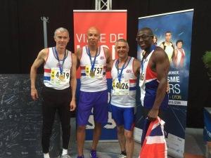 Donald Brown - Bronze Medal