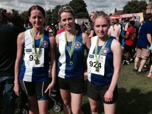 Lichfield 10k Team