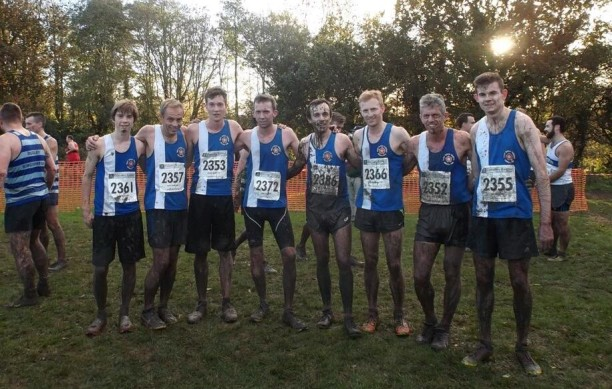 2015 Men Cross Country Team  @ Leamington