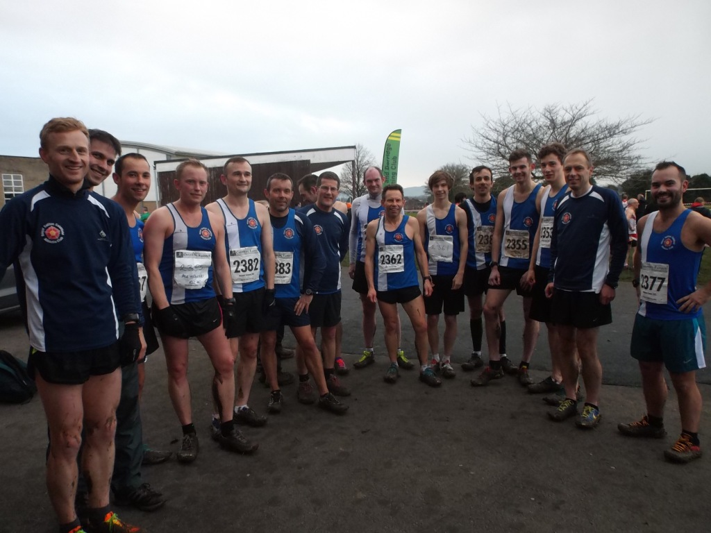 The team 'after' the race